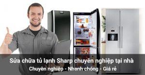 Sửa chữa tủ lạnh Sharp