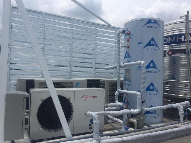 Hệ thống nước nóng trung tâm heatpump có nhiều ưu điểm nổi bật