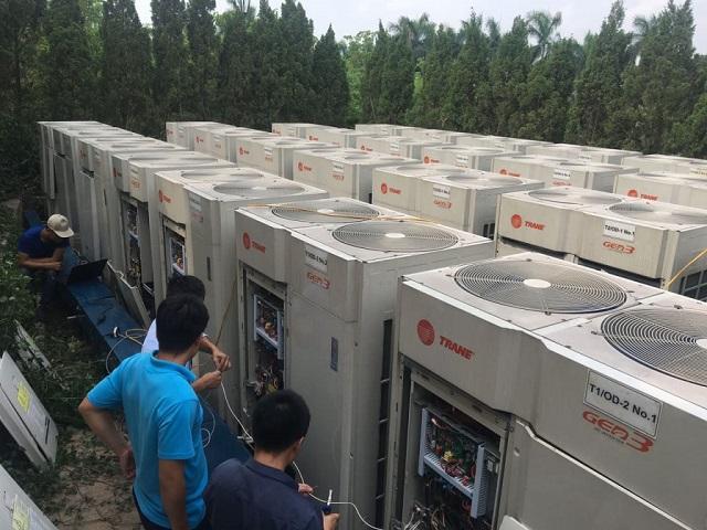 Dịch vụ điện tử điện lạnh Minh Đức - đơn vị bảo dưỡng điều hòa VRV uy tín