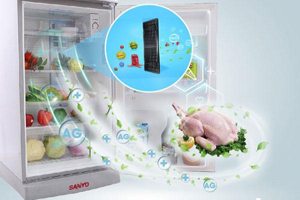 Nguyên nhân tủ lạnh Sanyo không đông đá