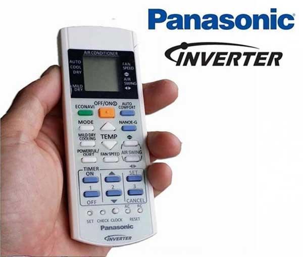 Sử dụng điều khiển điều hòa Panasonic cần chú ý gì?