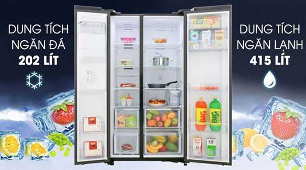 Bảng mã lỗi tủ lạnh Samsung thường gặp