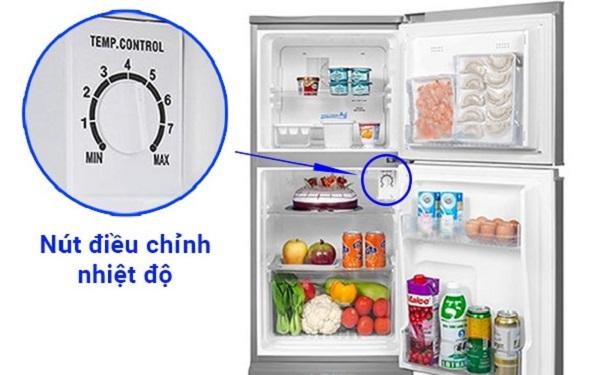 Cách sử dụng tủ lạnh Sanyo để điều chỉnh nhiệt độ hợp lý