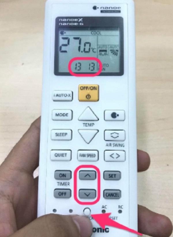 Hướng dẫn cách sử dụng chế độ hẹn giờ của điều khiển điều hòaPanasonic