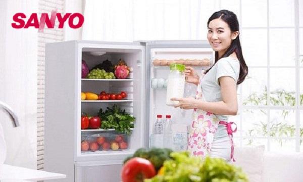 Mách bạn một số mẹo tiết kiệm điện khi sử dụng tủ lạnh Sanyo