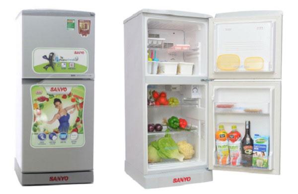 Hướng dẫn sử dụng tủ lạnh Sanyo nội địa