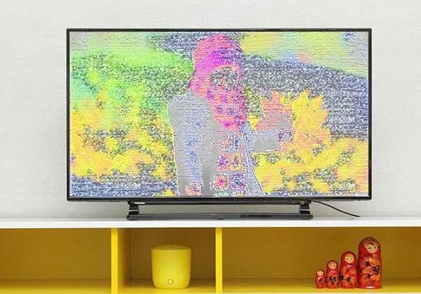 Lỗi chất lượng hình ảnh tivi Panasonic thấp, không đạt chuẩn HD