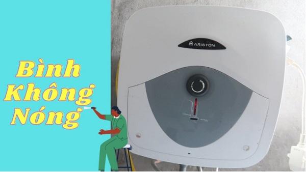 Cách sửa bình nóng lạnh Aristonkhông nóng