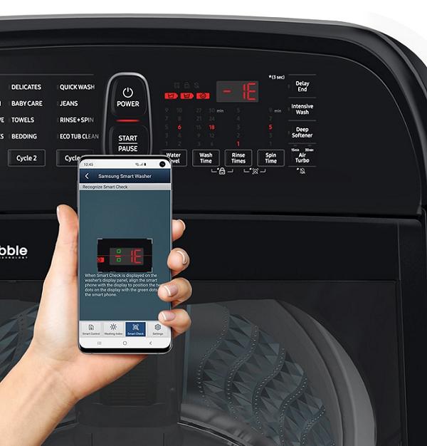Hướng dẫn cách test lỗi máy giặt Samsung chỉ với 4 bước